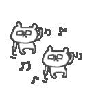 メガネくまさん Cute glasses bear(個別スタンプ:29)