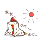 夏だぺん!はんぺんズの夏スタンプ(個別スタンプ:40)