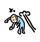 水色タイツman(個別スタンプ:09)
