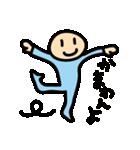 水色タイツman(個別スタンプ:31)