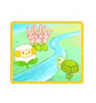 空・山・海・川!ウキウキ楽しい自然の景色(個別スタンプ:2)