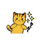 動くねこ!つしまやまねこ (絶滅危惧種猫)(個別スタンプ:2)