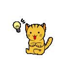 動くねこ!つしまやまねこ (絶滅危惧種猫)(個別スタンプ:3)