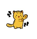 動くねこ!つしまやまねこ (絶滅危惧種猫)(個別スタンプ:11)