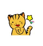 動くねこ!つしまやまねこ (絶滅危惧種猫)(個別スタンプ:13)