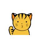 動くねこ!つしまやまねこ (絶滅危惧種猫)(個別スタンプ:17)