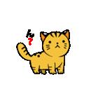 動くねこ!つしまやまねこ (絶滅危惧種猫)(個別スタンプ:18)