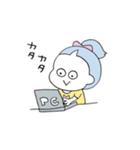 ぽにーてーるのこ02(個別スタンプ:08)