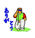 ゴルファーのためのスタンプ 1(個別スタンプ:27)