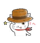 歌うたいの白猫 1(個別スタンプ:03)