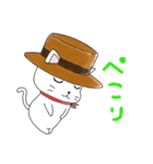 歌うたいの白猫 1(個別スタンプ:06)