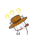 歌うたいの白猫 1(個別スタンプ:09)