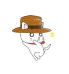 歌うたいの白猫 1(個別スタンプ:10)