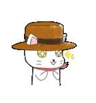 歌うたいの白猫 1(個別スタンプ:17)