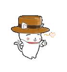 歌うたいの白猫 1(個別スタンプ:18)