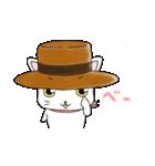 歌うたいの白猫 1(個別スタンプ:33)