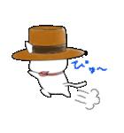 歌うたいの白猫 1(個別スタンプ:34)