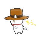 歌うたいの白猫 1(個別スタンプ:35)