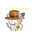 歌うたいの白猫 1(個別スタンプ:37)