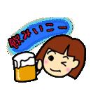 女の子、その2。関西弁よく使う言葉(個別スタンプ:07)