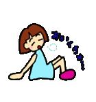 女の子、その2。関西弁よく使う言葉(個別スタンプ:15)