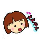 女の子、その2。関西弁よく使う言葉(個別スタンプ:18)