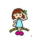 女の子、その2。関西弁よく使う言葉(個別スタンプ:28)