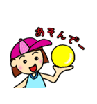 女の子、その2。関西弁よく使う言葉(個別スタンプ:37)