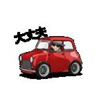 動くミニサイズで可愛い車(個別スタンプ:06)