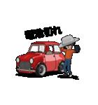 動くミニサイズで可愛い車(個別スタンプ:19)