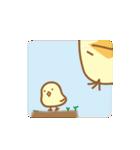 ゆるめのパステルひよこ3(個別スタンプ:33)