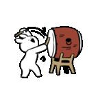 すこぶる動くウサギ3(個別スタンプ:07)