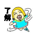 笑顔のおかあちゃん(個別スタンプ:01)