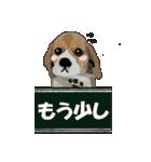 OK&NO版・イラストっぽい子犬2(個別スタンプ:18)
