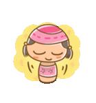 ゆるっとコケシちゃん(個別スタンプ:4)