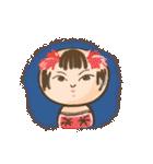 ゆるっとコケシちゃん(個別スタンプ:16)