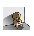 むっちりベィビィ3(個別スタンプ:40)