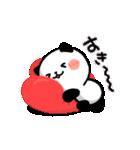 LOVE❤うご!パンダねこ(個別スタンプ:02)