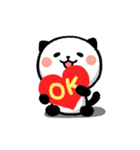 LOVE❤うご!パンダねこ(個別スタンプ:13)