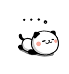 LOVE❤うご!パンダねこ(個別スタンプ:18)