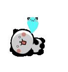 LOVE❤うご!パンダねこ(個別スタンプ:20)