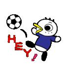"""サッカー大好き!!""""サッカーバード""""(個別スタンプ:03)"""