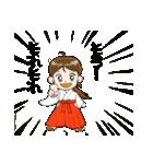 ことだま巫女ちゃん3(個別スタンプ:17)