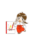 ことだま巫女ちゃん3(個別スタンプ:38)