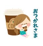 かわいい主婦の1日【ゆるカラー編】(個別スタンプ:05)