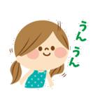 かわいい主婦の1日【ゆるカラー編】(個別スタンプ:07)