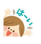かわいい主婦の1日【ゆるカラー編】(個別スタンプ:08)