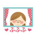 かわいい主婦の1日【ゆるカラー編】(個別スタンプ:15)