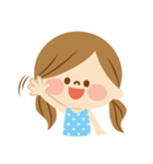かわいい主婦の1日【ゆるカラー編】(個別スタンプ:17)