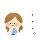 かわいい主婦の1日【ゆるカラー編】(個別スタンプ:27)